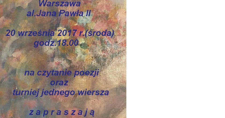 Przystanek Na Wiersz Linia Tramwajowa Warszawa Aljana
